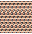 Lion heads on seamless pattern background vector image