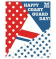 Coastguardday vector image