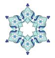 artistic ottoman pattern series nine vector image