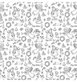 Christmas doodle seamless vector image