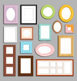 photo or image wall and table decorative frame vector image