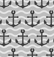Sea anchors wallpaper vector image