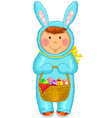 Easter coustume vector image