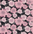 pale pink color stylized floral seamless pattern