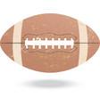football-vintage vector image
