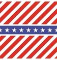 Patriotic USA seamless pattern vector image