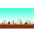 Game Cartoon Background vector image