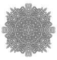 monochrome hand drawn decorative element vector image