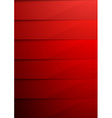 Red shadow layer modern folder background vector image