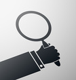 magnifying glass Stock vector image