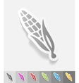realistic design element corn vector image