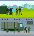 army force horizontal banners vector image