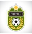 Sports soccer football badge vector image