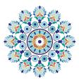 artistic ottoman pattern series six vector image