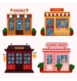 buildings that are vector image