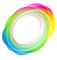 Abstract Color Shape vector image vector image