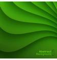 Green Wavy background vector image