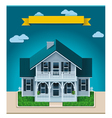 cottage xxl icon vector image