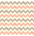 Seamless chevron pattern on linen turquoise vector image