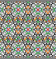 colored oriental ornamenteps vector image