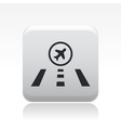 airstrip icon vector image