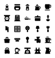 Kitchen Utensils Icons 10 vector image