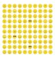 Set of emoticons icon vector image