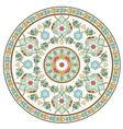 artistic ottoman pattern series ten vector image