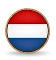 Netherlands Seal vector image