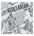 Soup Skills of Vegetarians 1 text background vector image