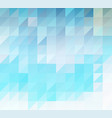 abstract background of blue triangles vector image