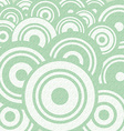 Abstract Retro Circle Flat Design Background vector image