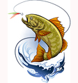 The Fishing vector image