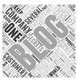 Helpful Tips for Corporate Blogging Word Cloud vector image