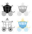carriage icon of for web and vector image