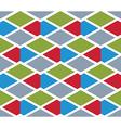 Bright rhythmic textured endless pattern stripy vector image vector image