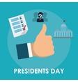 Presidents icon design vector image