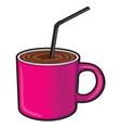 Coffee cup Coffee mug vector image