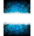 Christmas background with copyspace EPS 10 vector image vector image