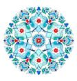 artistic ottoman pattern series twelve vector image
