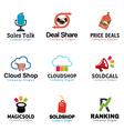 Shop Marketing Design vector image