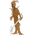 tree warrior vector image