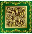 floral ornament vector image vector image