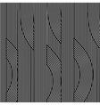 Line Black White Retro Background vector image