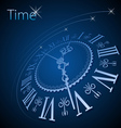 Abstract clock background - conceptual vector image