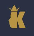 king royal luxury vector image