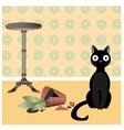 Naughty cat2 vector image