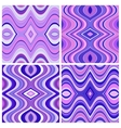 Set of Seamless Abstract Wavy Backgrounds vector image