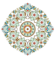 artistic ottoman pattern series two vector image