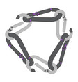 image of climber carabiner vector image